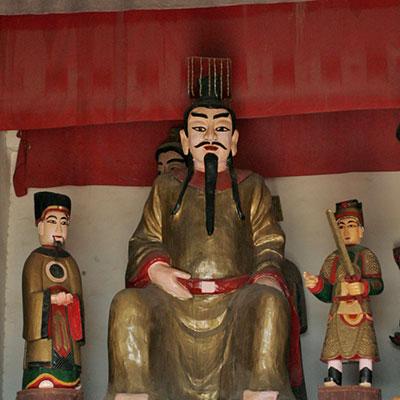 烏林呉王廟